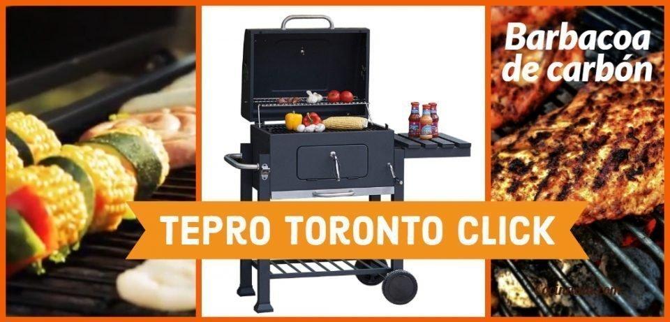 Tepro Toronto Click 2019 la mejor barbacoa de carbón para tu jardín