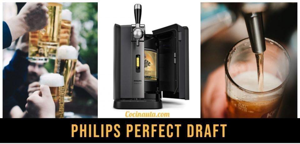 Dispensador de cerveza Philips HD3720/25, el mejor grifo de cerveza de barril.