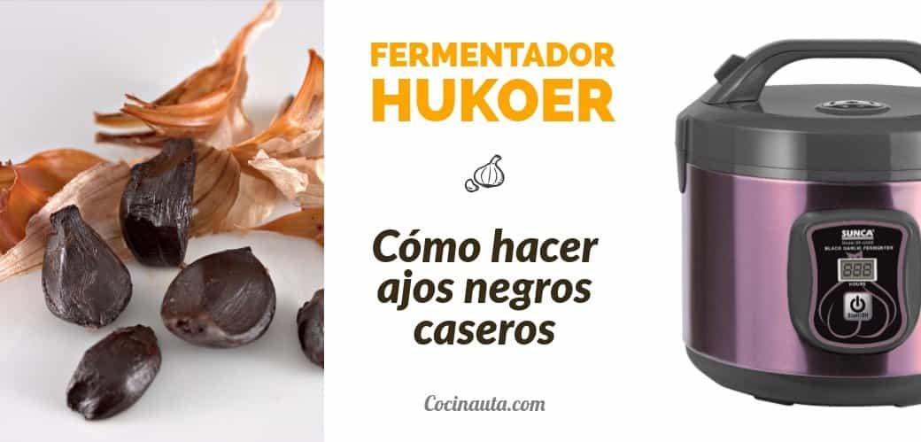 HUKOER Fermentador eléctrico de ajos negros Máquina inteligente de fermentación Pote de ajo hecho en casa