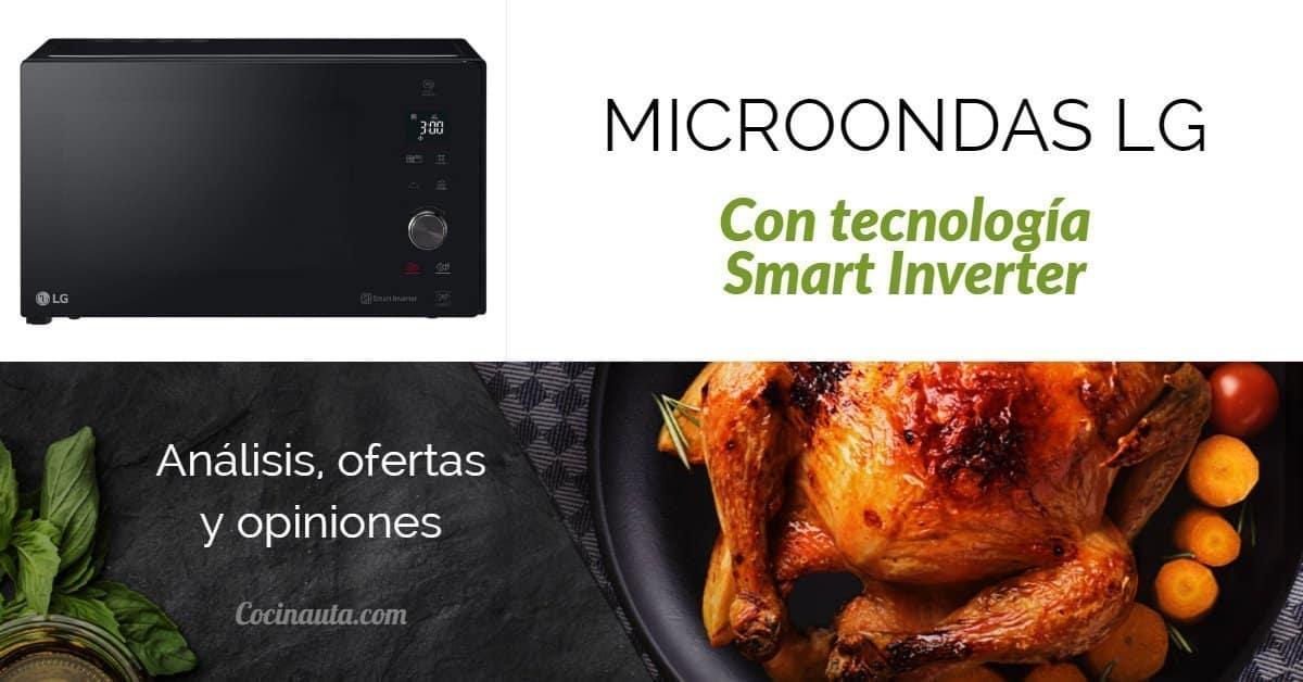 Microondas LG Smart Inverter MH7265DPS, el horno más rápido pensado para ahorrar - Imagen 3 - Cocinauta