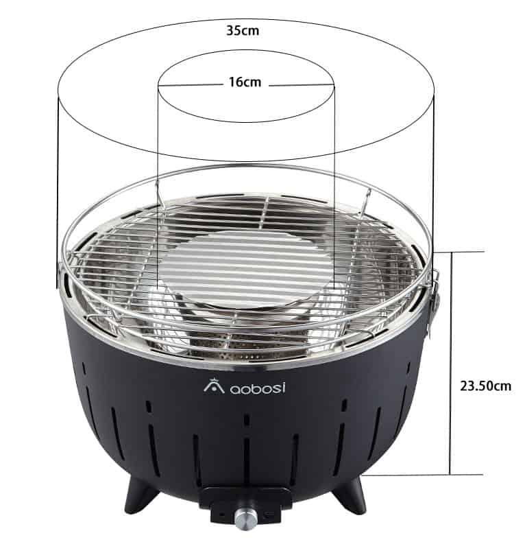 Esta barbacoa de carbón sin humo es la mejor parrilla portátil para este verano - Imagen 18 - Cocinauta