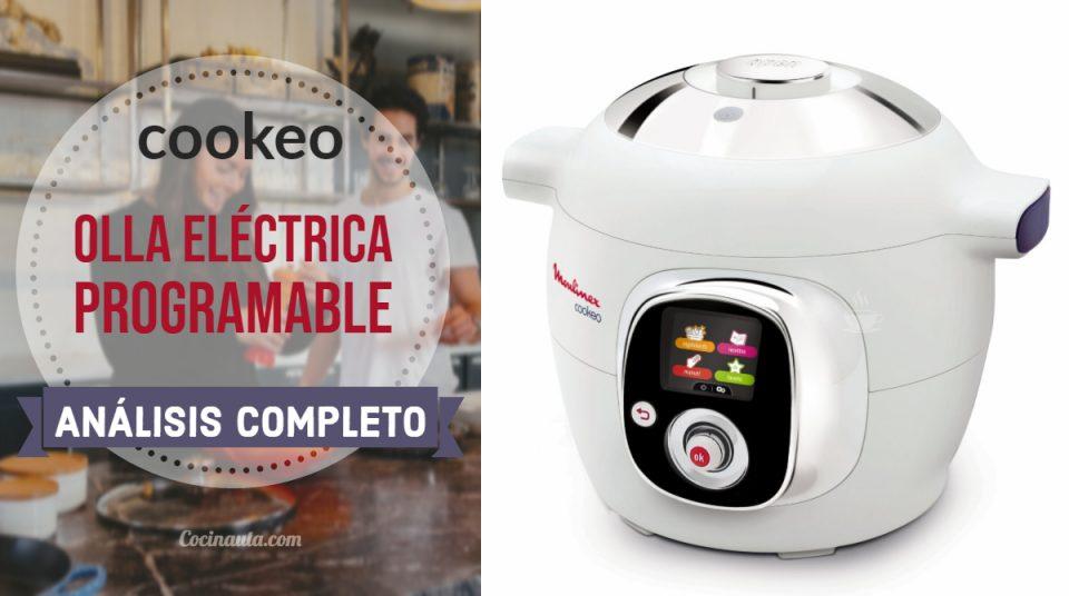Moulinex Cookeo CE701010, la mejor olla eléctrica programable
