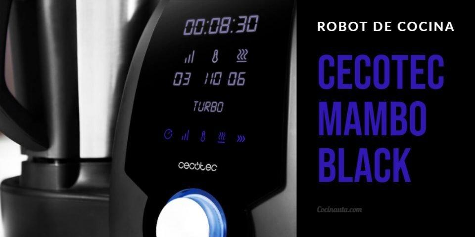 Cecotec Mambo, un robot de cocina potente y asequible