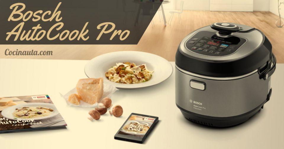 Bosch AutoCook Pro, la mejor olla exprés eléctrica programable