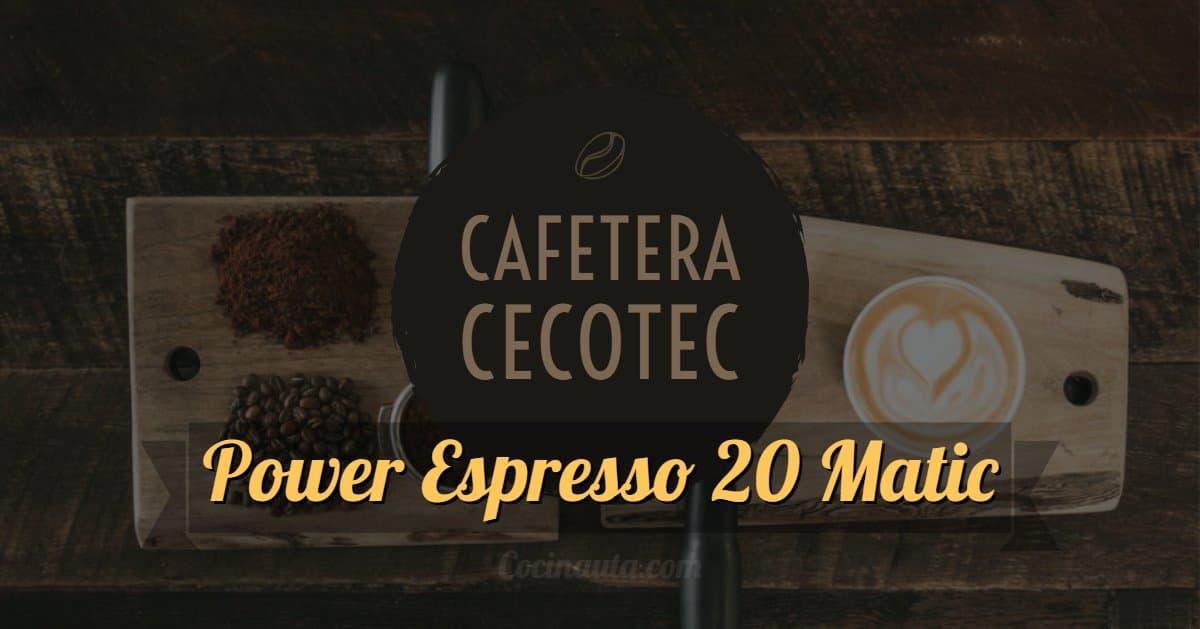 Cafetera Cecotec Power Espresso 20 Matic, la mejor cafetera para el día a día - Imagen 9 - Cocinauta