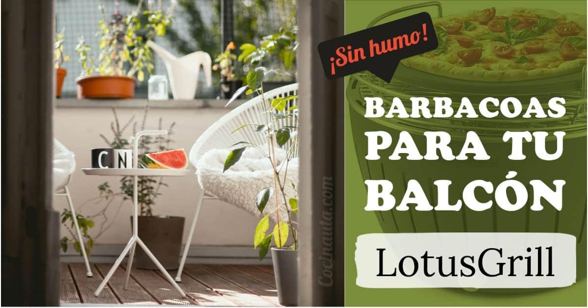 LotusGrill, la barbacoa sin humo que puedes usar en tu balcón - Imagen 3 - Cocinauta