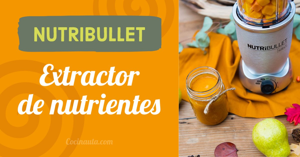 NutriBullet, qué debes saber sobre esta batidora para smoothies - Imagen 35 - Cocinauta