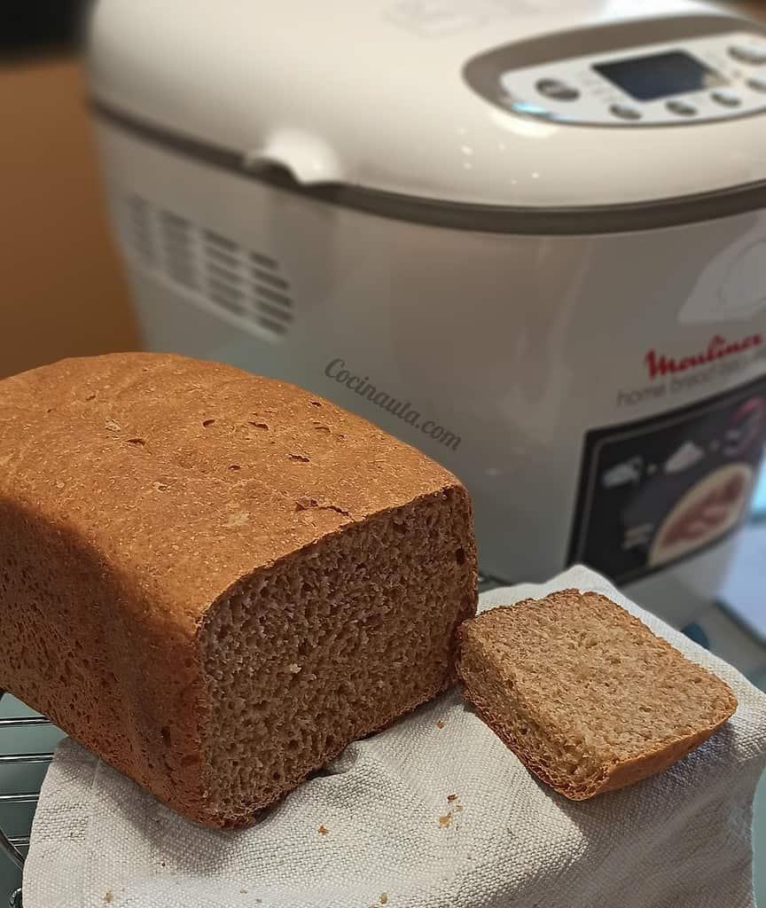 Moulinex Home Baguette OW610110 - Panificadora de 1650 W, 16 programas, sin gluten, hasta 1.5 kg, inicio programado, mantenimiento caliente, incluye bandejas para baguette, 2 aspas amasar y recetario