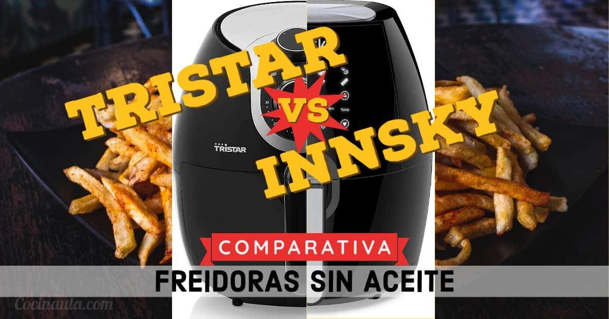 Tristar Crispy Fryer XXL vs. Innsky: comparativa de las 2 mejores freidoras sin aceite - Imagen 3 - Cocinauta