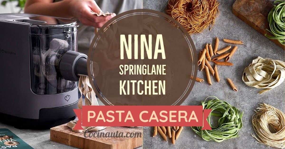 Haz pasta casera con Nina, la máquina automática más vendida de 2020 - Imagen 3 - Cocinauta