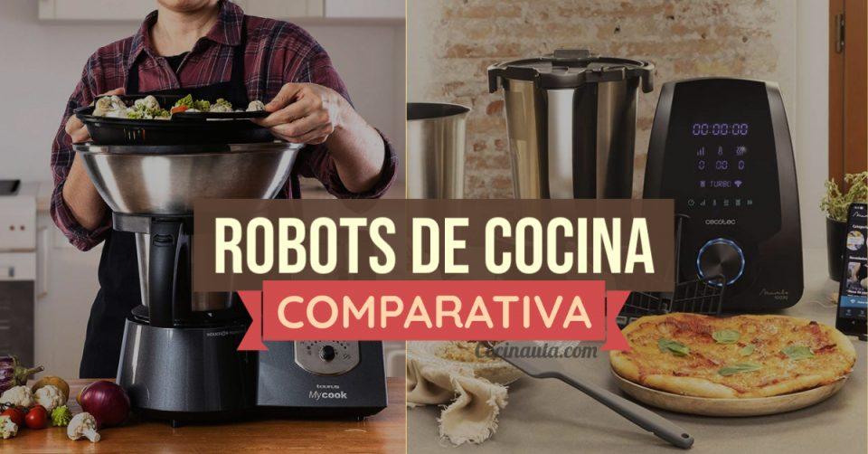 Las 2 mejores alternativas al robot de cocina Thermomix: Taurus Mycook Legend vs Cecotec Mambo 10090