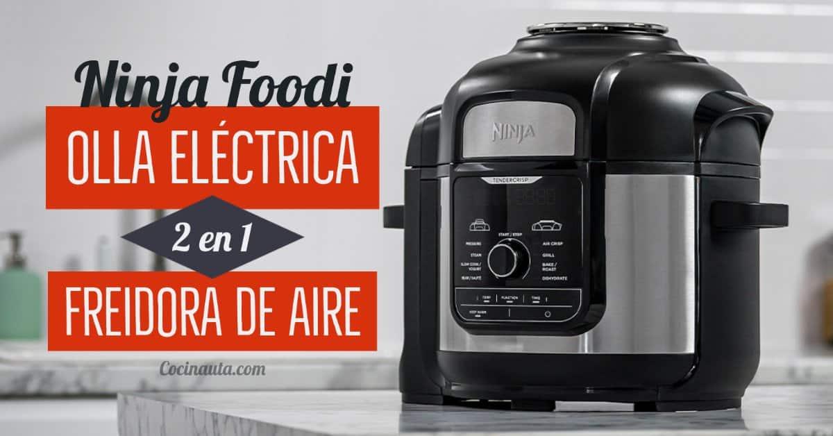 Ninja Foodi, olla a presión programable y freidora de aire 2 en 1 - Imagen 3 - Cocinauta