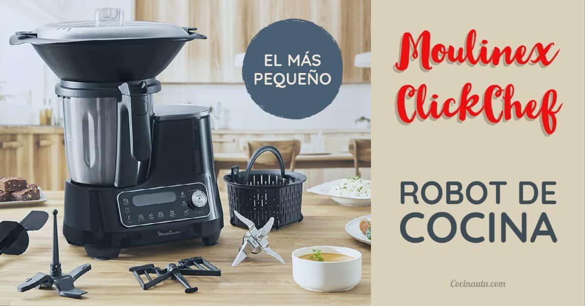 Moulinex ClickChef, el robot de cocina que sólo necesita 2 clicks - Imagen 3 - Cocinauta