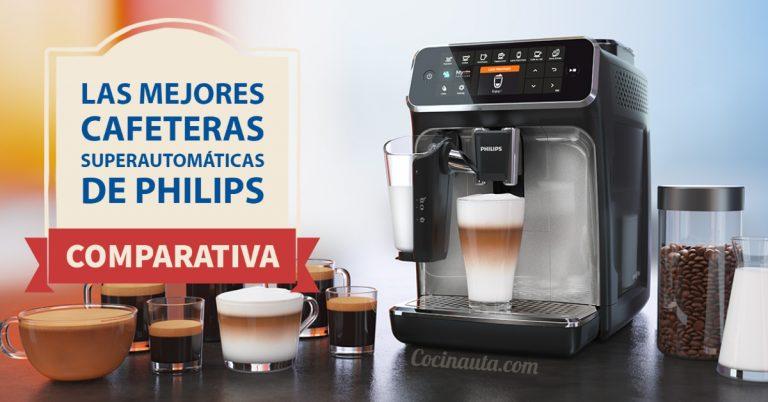 Comparativa de las 3 mejores cafeteras automáticas de Philips