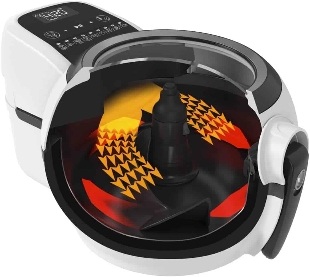 Tefal ActiFry Genius Snaking, la freidora de aire con pala automática que no se pega - Imagen 12 - Cocinauta