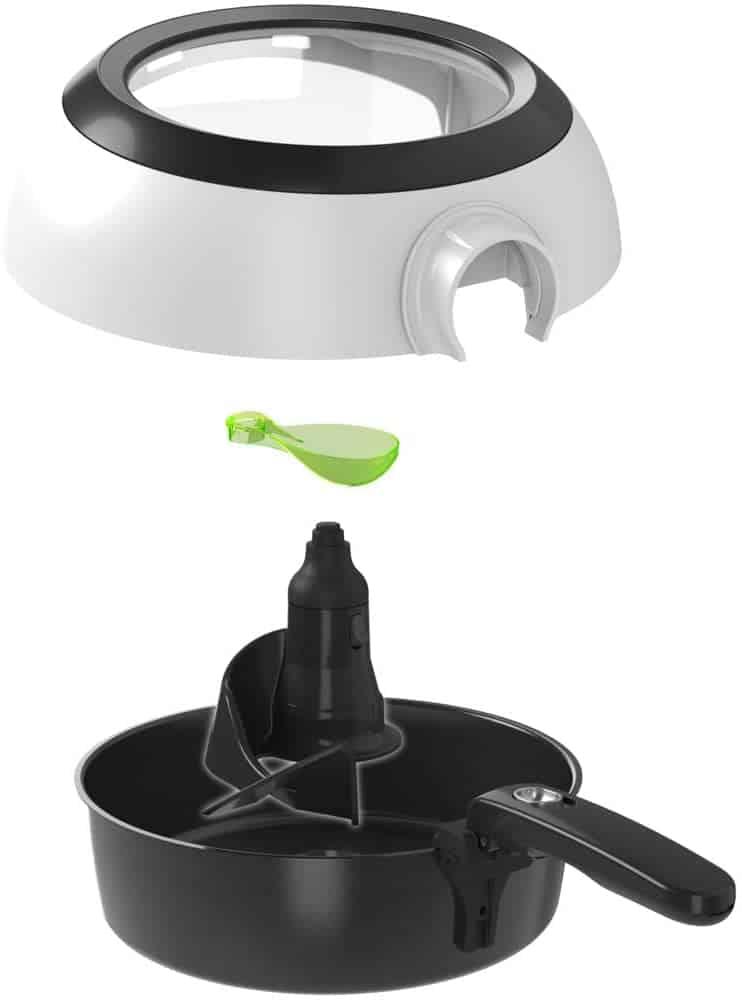 Tefal ActiFry Genius Snaking, la freidora de aire con pala automática que no se pega - Imagen 8 - Cocinauta