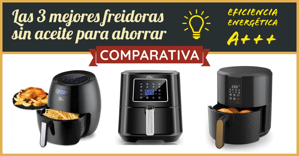 Las 3 mejores freidoras de aire con eficiencia energética A+++ - Imagen 3 - Cocinauta