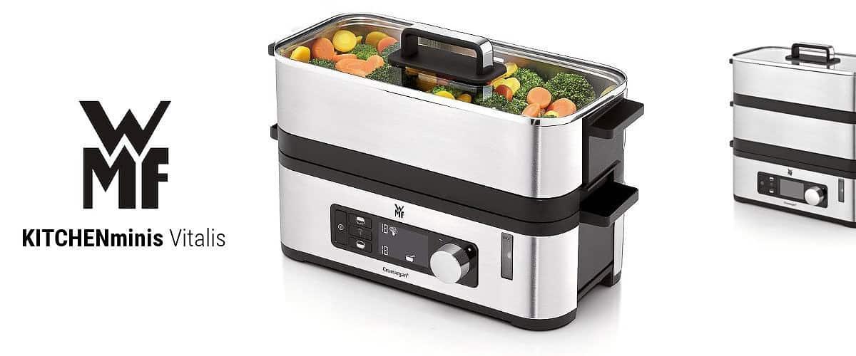 Vaporera WMF KITCHENminis, la mejor vaporera de acero inoxidable - Imagen 11 - Cocinauta