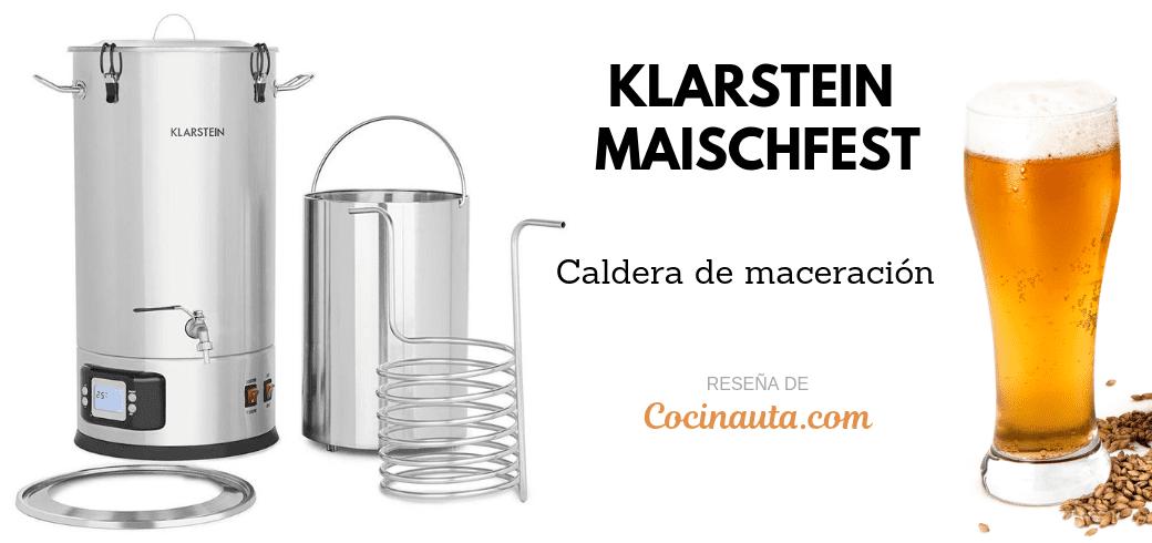 Caldera de maceración Klarstein Maischfest