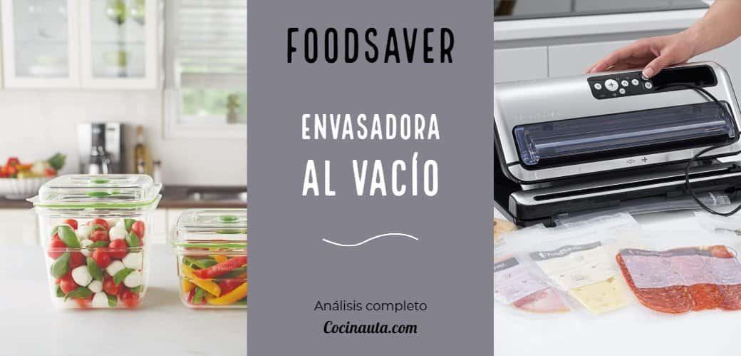 Foodsaver FFS006X: La mejor envasadora al vacío de 2020 - Imagen 5 - Cocinauta