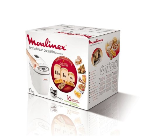 Panificadora Moulinex Home Baguette, la mejor máquina de hacer pan - Imagen 27 - Cocinauta