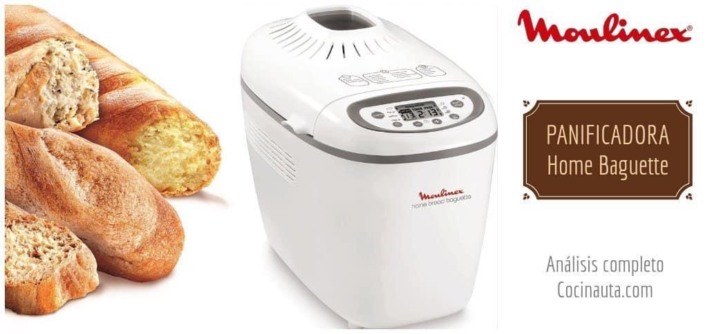 Panificadora Moulinex Home Baguette, la mejor máquina de hacer pan
